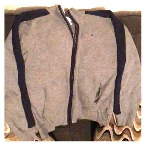 Gray & Blue CK (Calvin Klein) Kids Sweater